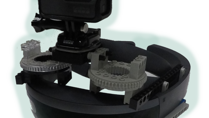 portable HoloLens SpectatorView using GoPro and Lego